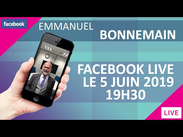 Facebook Live - L'emploi