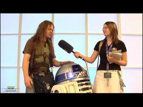 gamescom - An Interview with R2D2 and its Creator (2009)