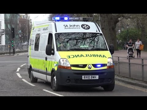 St John Ambulance responding (Collection)