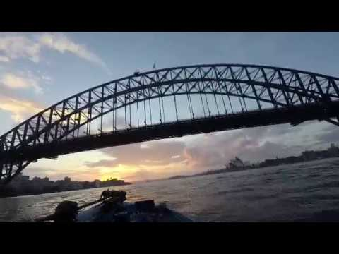 Steve Morgan Live Boat Camera | Australian Open Day 1 Sydney Harbour