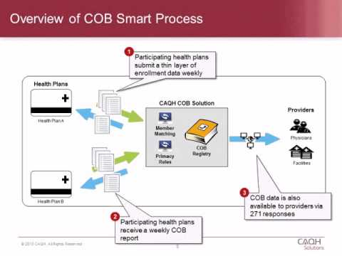 COB Smart: Health Plan Strategies on Coordination of Benefits