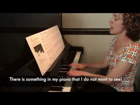 Something in My Piano - Elementary Piano Piece