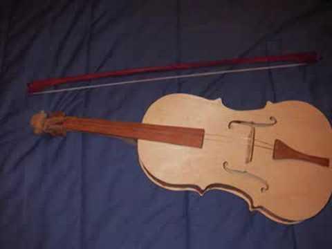 Homemade Violin - YouTube