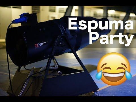 Servicio de Espuma Party en Puerto Rico 📞 (787)356-5429