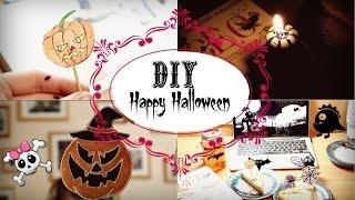 Happy Halloween | DIY | Еда, украшение, книги