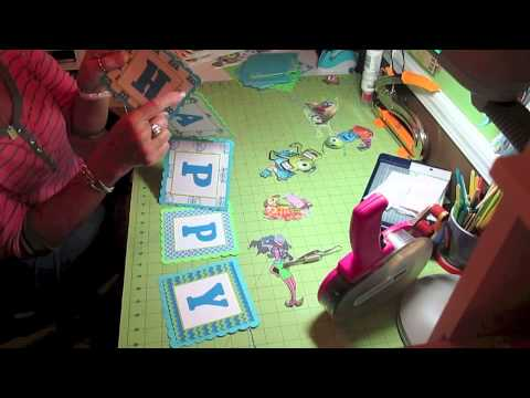 Monsters Inc University Party decorations