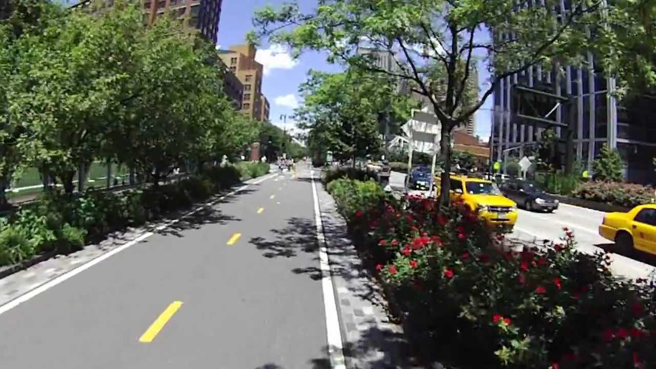 Biking Nyc Hudson River Greenway Pt 1 Youtube