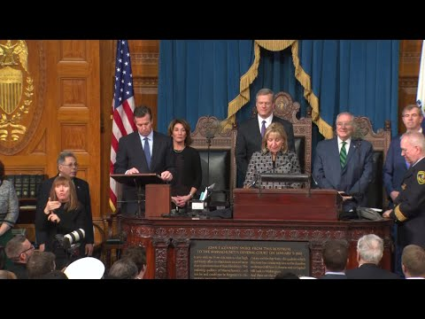 VIDEO NOW: Massachusetts Inauguration Posting of the Colors