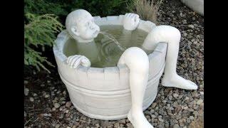 видео скульптура своими руками  делаем копию из бетона