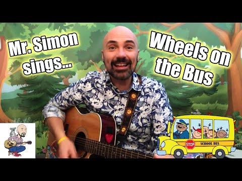 Mr Simon | Wheels On The Bus | Children's Music
