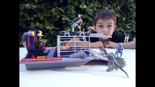 Hidrodeslizador con jaula de Playmobil - 9433