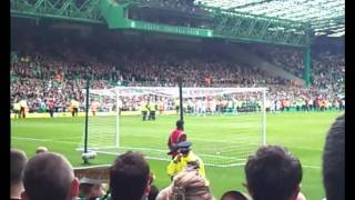 Celtic V Motherwell - YNWA - Neil Lennon -I Just Cant Get Enough EVERYTHING