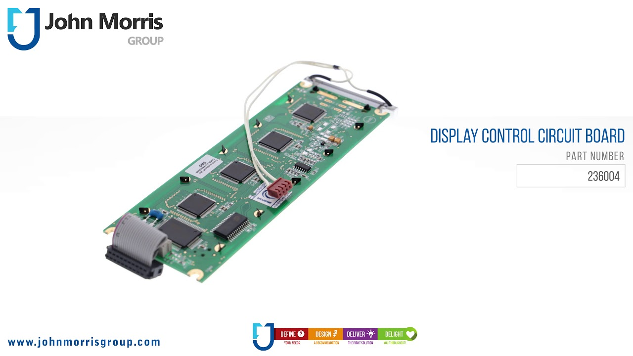 Lcd Display Control Circuit Board - 4k15