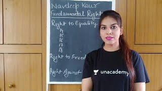 Fundamental Rights In India - Indian Polity - CBSE UGC NET