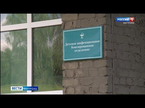Два ребенка в Костроме госпитализированы с подозрением на коронавирус