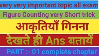 Figure counting complete chapter reasoning very short trick in hindi by success target point classes