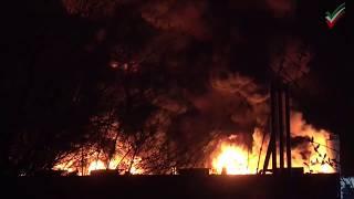 Großbrand und Explosionen in Chemiefirma in Witten – Rauchsäule weithin sichtbar