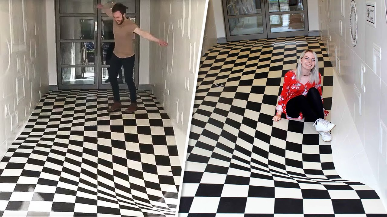 The Floor in This Office Is Enough to Make You Seasick on Dry Land