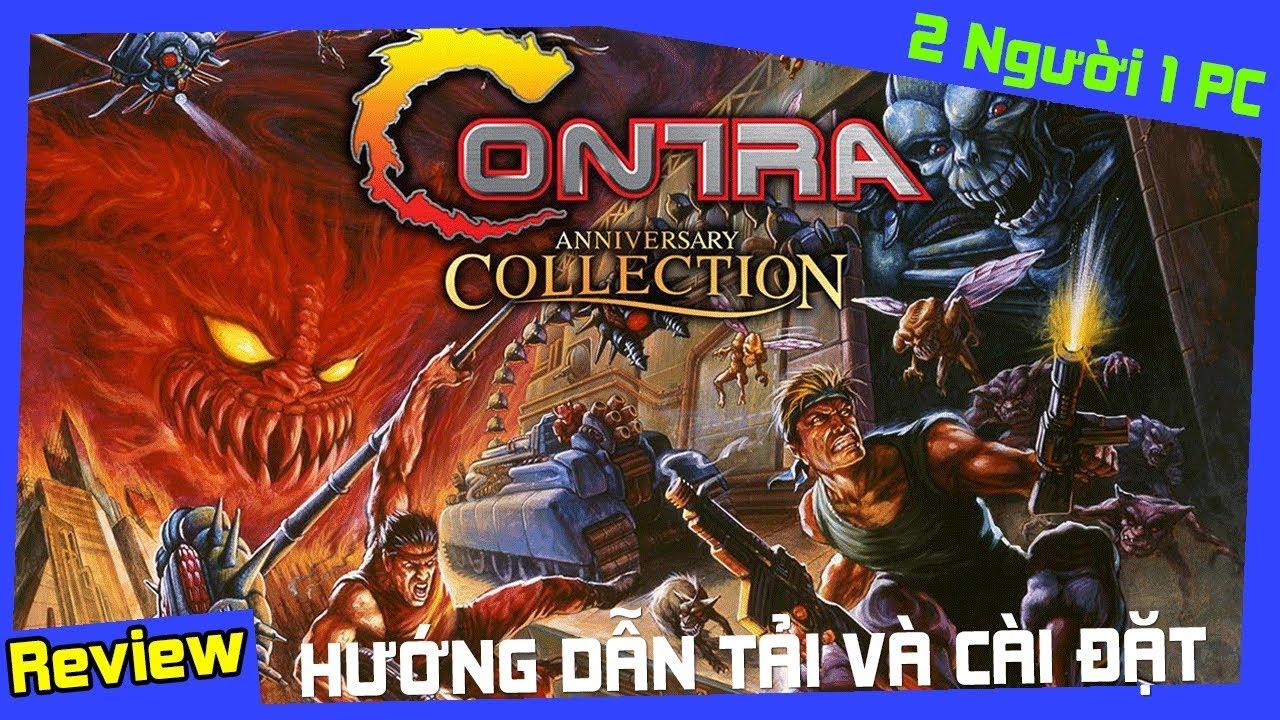 Cách Tải Game Contra Anniversary Collection Để Chơi Với Bạn Bè Thành Công