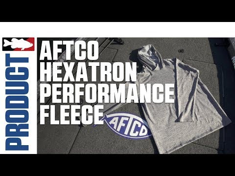 Aftco Hexatron Performance Fleece With Jared Lintner On Clear Lake