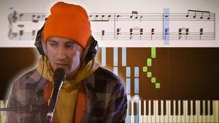 MY BLOOD (Live Lounge Piano Version) - Twenty One Pilots - Tutorial + SHEETS