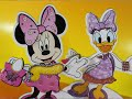 Minnie Mouse And Daisy Duck Magnetic Dress Up Fashion Set by Kikiland!