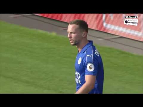 Leicester-Southampton play to exciting draw