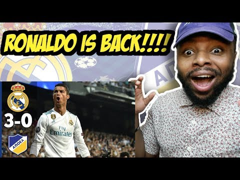 Real Madrid vs Apoel 3-0 - All Goals & Extended Highlights (13/09/2017) HD Reaction