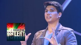 Ye Thu Aung Magician Myanmar's Got Talent 2015 Final | Season 1