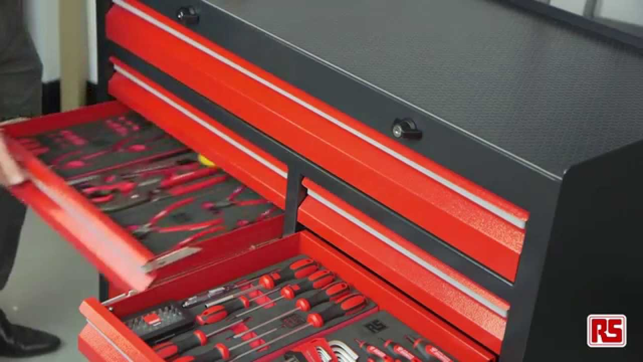 RS Steel Tool Cabinets