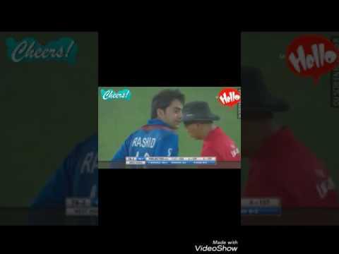 Afghanistan vs West Indies Rashid Khan Best Bowling.