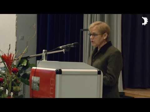 """Hriberski (BdV) eröffnet Ausstellung """"Angekommen"""