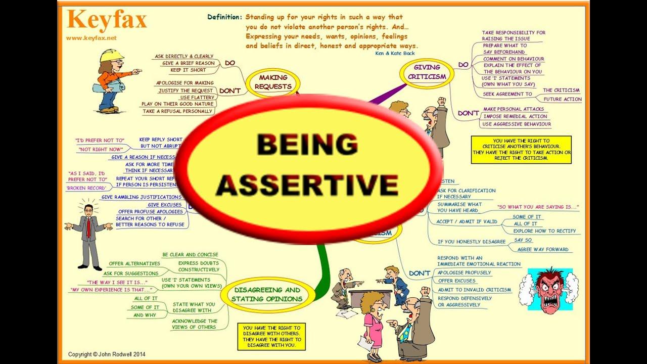 assertive nature
