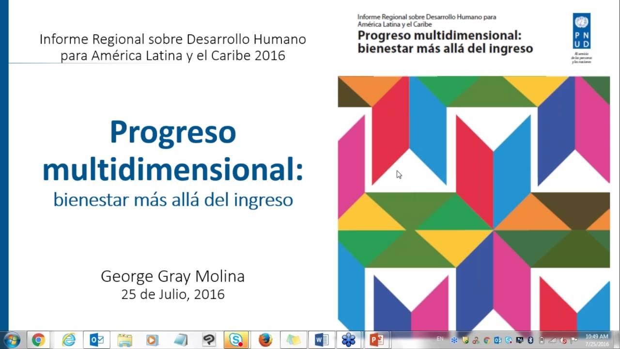 WEBINAR Informe Regional sobre Desarrollo Humano desde una Perspectiva de Género