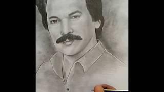 Karakalem Çizim Orhan Gencebay