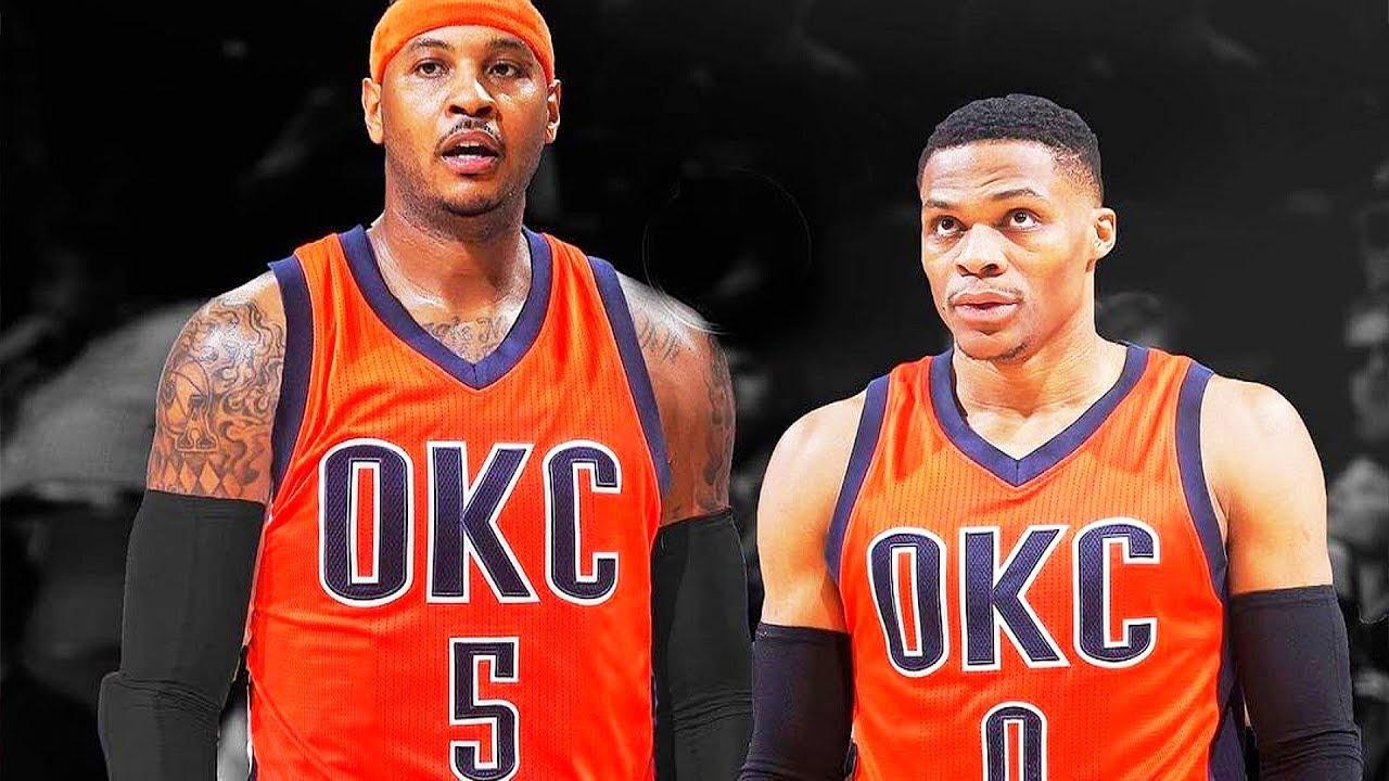 0d00a9814 Carmelo Anthony Traded To Thunder! Knicks Trade Carmelo Anthony to OKC  Thunder