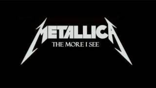 Watch Metallica The More I See video