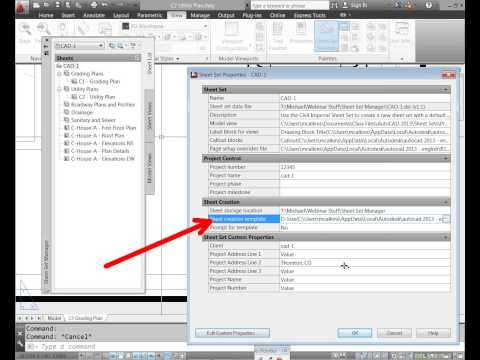 CAD-1 Presents - Sheet Set Manager in AutoCAD