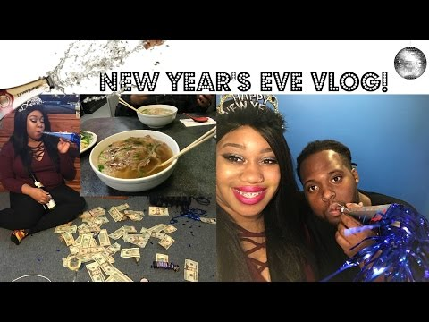 Vlog| New Year's Eve! + Trying Pho Vietnamese Dish