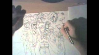 How I draw Naruto the Hokage