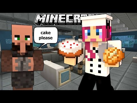 Restaurant Rush! Is This Sanitary?! | Minecraft Mini Game | Amy Lee33