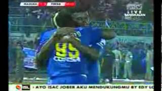 PERSEPAM MADURA VS PERSIB  1 - 3 _ ISL _ ALL GOALS _ 28 April 2013 - YouTube