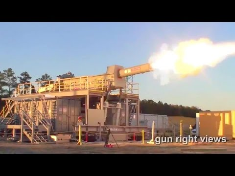 Office Of Naval Research - Electromagnetic Railgun First Shot Commissioning Series [720p]