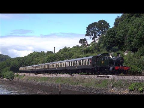 Dartmouth Steam Railway, 'Kingsbeer Festival' Weekend, Saturday July 16th 2016
