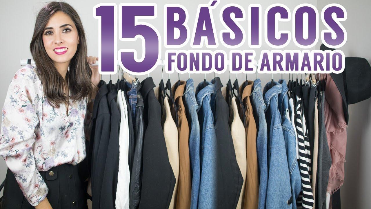 ddb95f898 15 básicos que no pueden faltar en tu fondo de armario