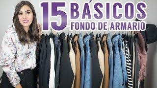 15 básicos que no pueden faltar en tu fondo de armario | Moda