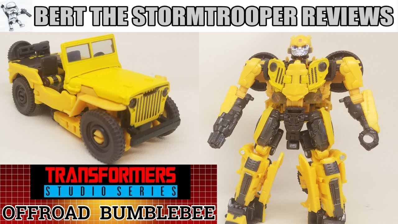 Let's Transform STUDIO SERIES 57: OFFROAD BUMBLEBEE by Bert the Stormtrooper Reviews!