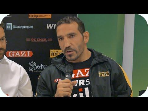 Firat Arslan - Interview vor dem Kampf gegen Nuri Seferi ᴴᴰ