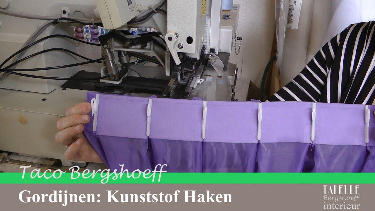 Tanelle Gordijnen Kunststof Haken - YouTube
