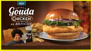 Wendy's® Smoked Gouda Chicken On Brioche Review! Part #1